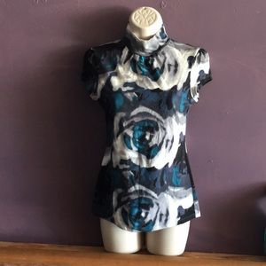 2 Express short sleeved, turtleneck shirts